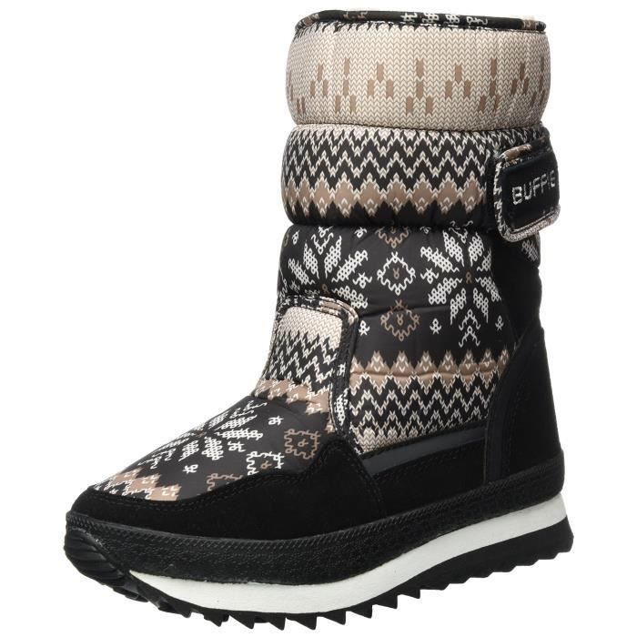 Baby And Mother Waterproof Mid Calf Boot Cold Weather Snow Boots Winter Rain Skiing Family Boot REWBP Taille-40 1-2 rFMYYzh