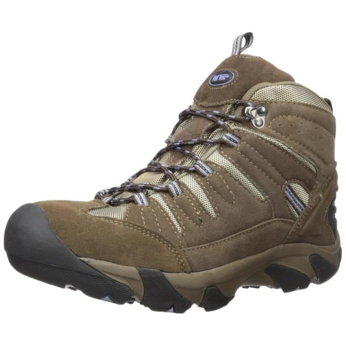 2019c Composite Toe Hiker Brown-lilac Work Boot GFDN5 Taille-42
