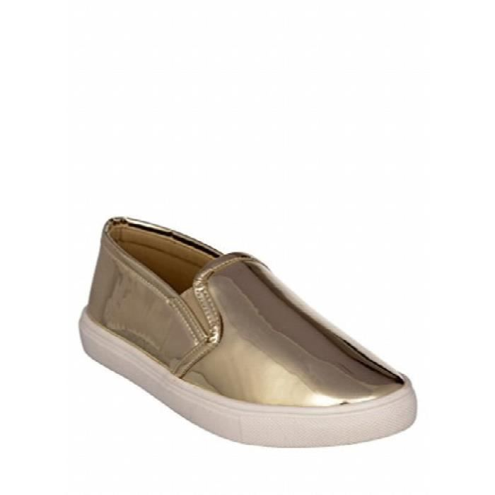 Golden Qjxtm Synthetic Taille Sneakers 36 Leather Women's BwvOxax