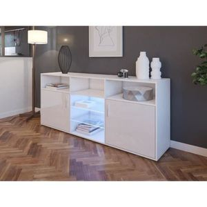 meuble moderne blanc brillant laque achat vente meuble moderne blanc brillant laque pas cher. Black Bedroom Furniture Sets. Home Design Ideas
