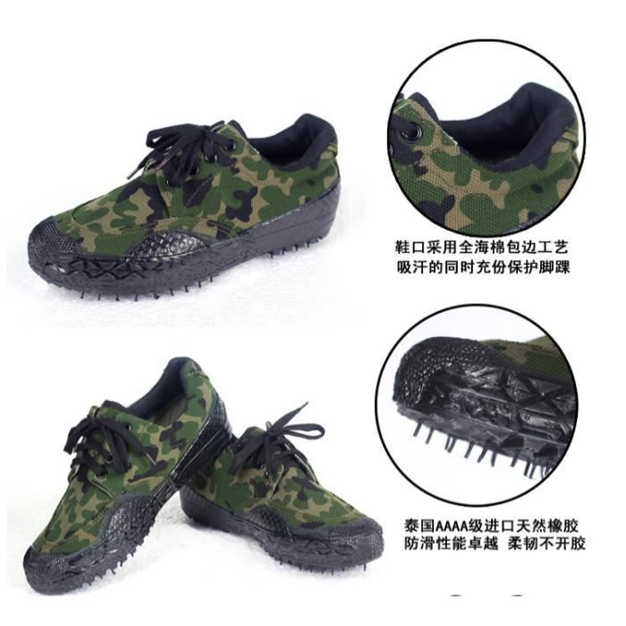 Hommes camouflage chaussures de toile chaussure...