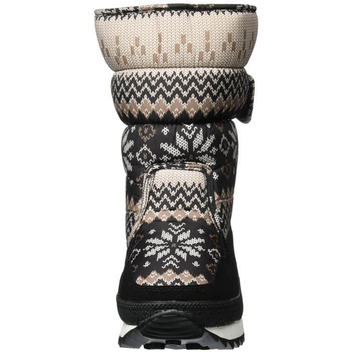 Baby And Mother Waterproof Mid Calf Boot Cold Weather Snow Boots Winter Rain Skiing Family Boot REWBP Taille-40 1-2 otwEDv97P