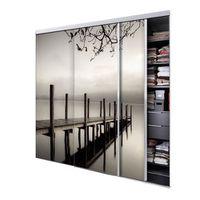 tixelia porte de placard coulissante jetee 3 vantaux. Black Bedroom Furniture Sets. Home Design Ideas