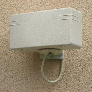 ANTENNE RATEAU Antenne TNT écologique - Antengrin Blanc crépis