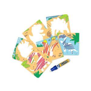 PUZZLE AQUADOODLE Assortiment mini tapis