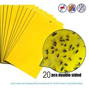 PRODUIT INSECTICIDE PRODUIT INSECTICIDE 20pcs pièges à mouches fortes