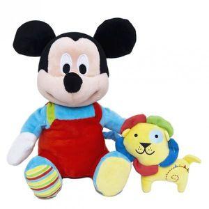 PELUCHE Disney Mickey Mouse - Peluche Boîte à Musique Mick