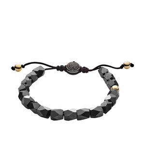 BRACELET - GOURMETTE Bracelet DIESEL en Acier et Hématite Noire