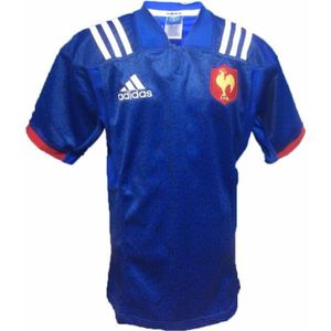 ac928ee67622b MAILLOT DE RUGBY ADIDAS Maillot de rugby FFR Home 2018 - Enfant - B