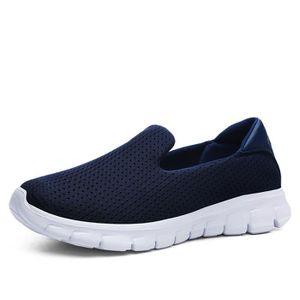 Basket homme chaussures personnalité Confortable Grande Taille Plus De  Couleur Loafer Classique Antidérapant Sneakers Style Noir Noir - Achat    Vente basket ... 9ac40428a1aec