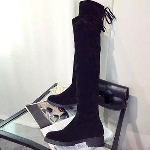 BOTTE Bottes d'automne à talons hauts Bottes Chaussures