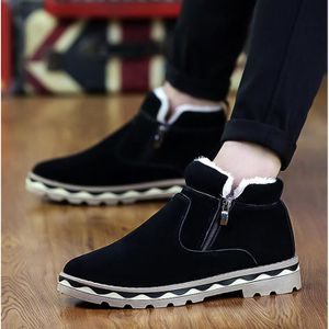 BOTTINE OLALI® Hiver Bottes Hommes D'hiver Chaussures Bott