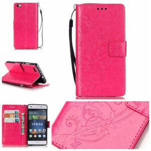 coque huawei p8 lite 2017 rose rouge