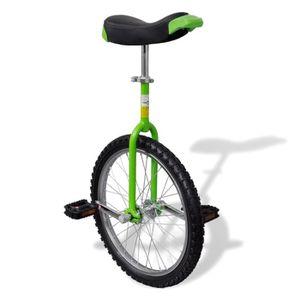 VÉLO MONOCYCLE Monocycle 50,8 cm ajustable en hauteur 80 - 94 cm