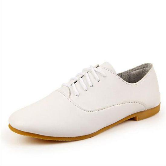24522c8c0129 Sneaker Femme 2017 Nouvelle arrivee Meilleure Qualité Sneakers Marque De Luxe  Antidérapant Confortable Plus Taille 35-40 Chaussures Blanc Blanc - Achat  ...