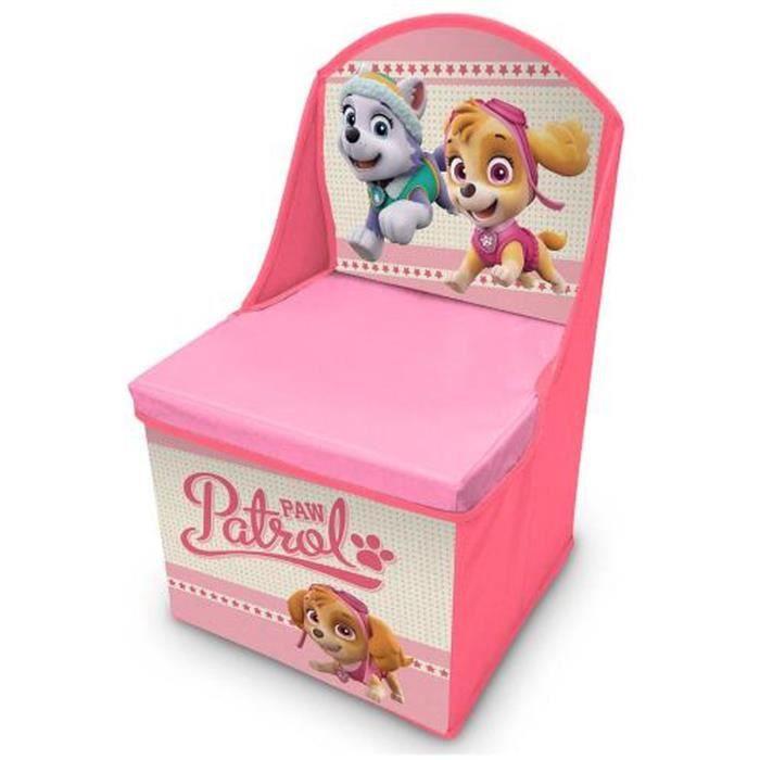 Chaise pat patrouille achat vente jeux et jouets pas chers - Coffre de rangement pat patrouille ...