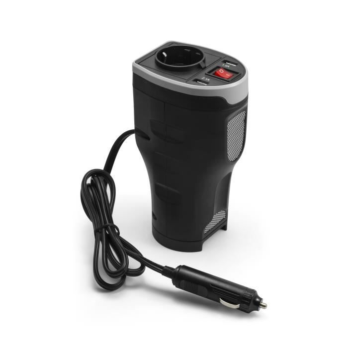 TECHNAXX Convertisseur de tension de voiture TE13 avec 2 ports USB