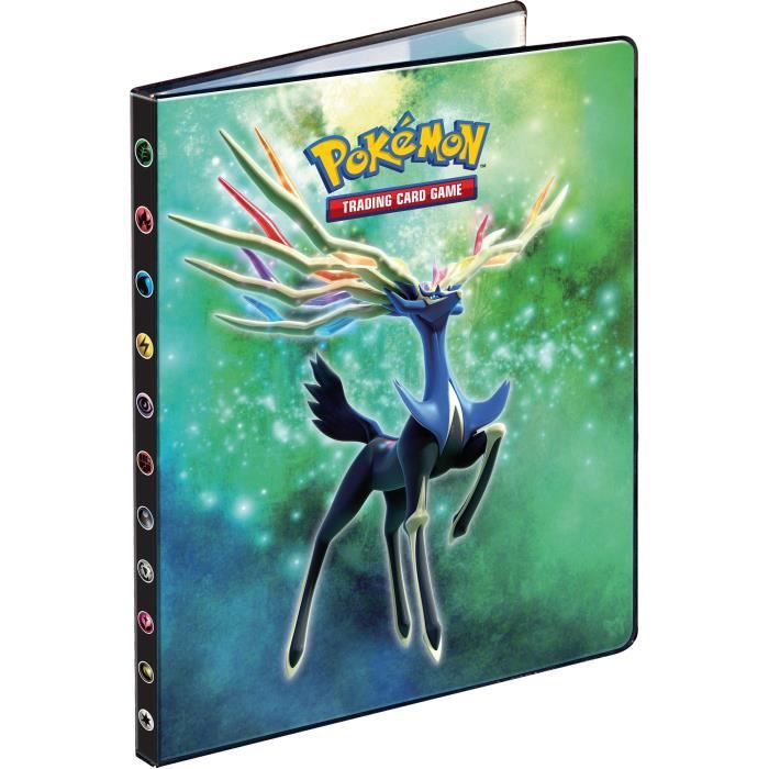 pokemon xy cahier a4 range cartes 180 cartes achat vente carte a collectionner cdiscount. Black Bedroom Furniture Sets. Home Design Ideas