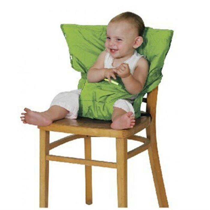 HIGHDAS Tissu De Voyage Portable Chaise Haute Sige Dappoint Pour Bbs Infant Vert