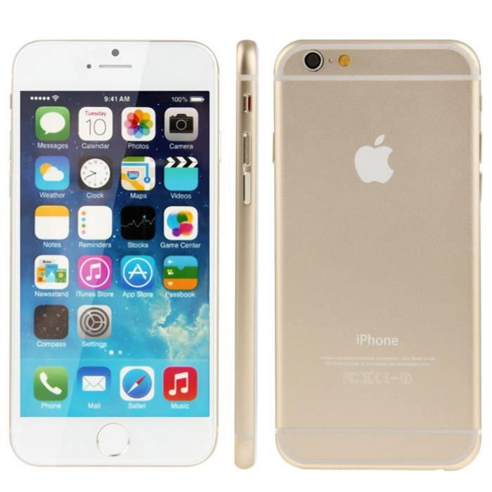 TÉLÉPHONE FACTICE iPhone 6 Plus (Gold) - Achat téléphone jouet pas ... e47c3fbc9023
