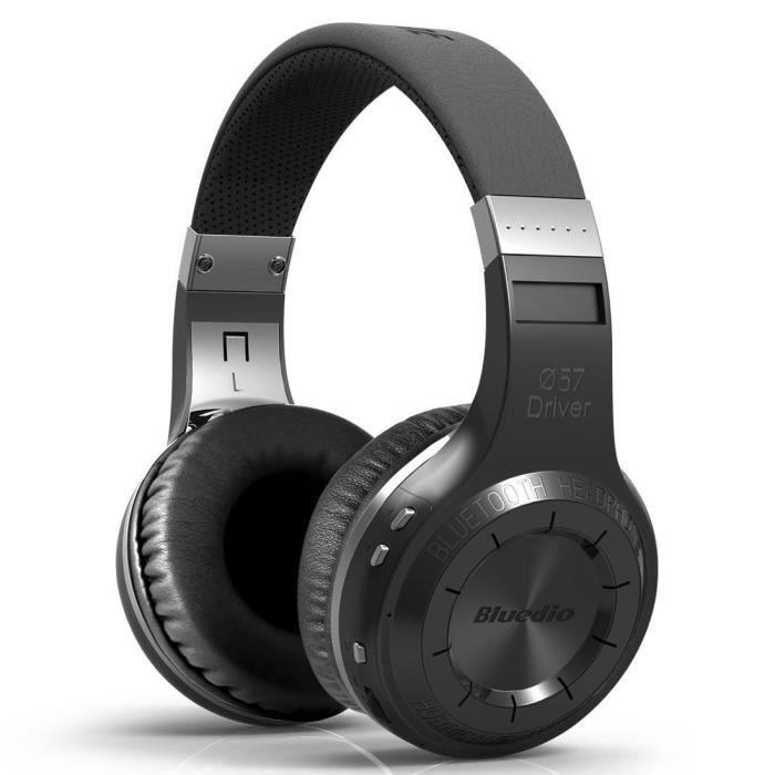Bluedio Ht Sans Fil Bluetooth 4.1 Stereo Headset Ecouteurs Noir