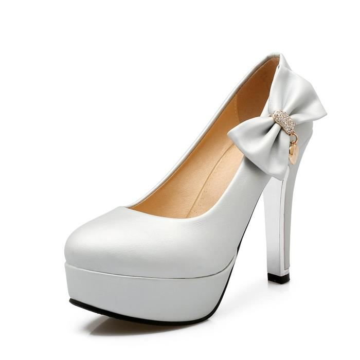 Soiree Solide Sexy Mariage Honorable Brillant Chaussure Femmes Y8qUc1w
