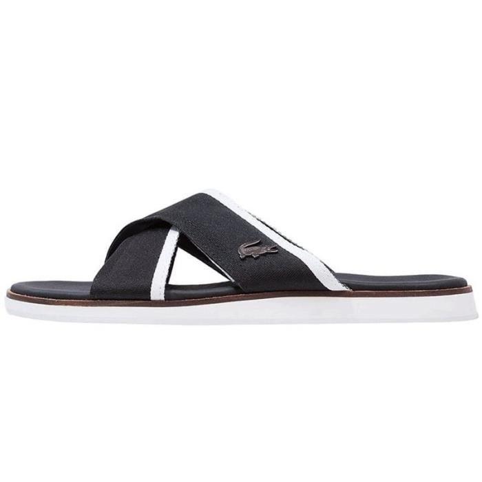 4d2fd4d1d4 Sandale Lacoste Coupri Sandal 117 - Ref. 733CAM1011024 Noir Noir ...