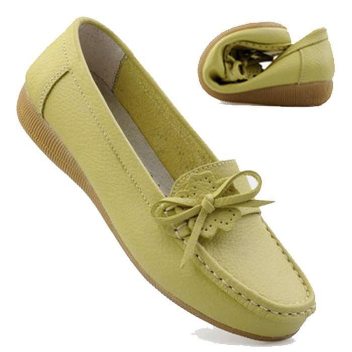 Femmes Flats 2017 nouvelles chaussures de base Plate-forme Femme Printemps Slip On Mocassins confortable Chaussures Femmes mEV7CId1q