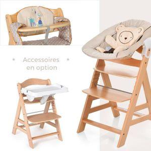 chaise haute bois enfant achat vente chaise haute bois enfant pas cher cdiscount. Black Bedroom Furniture Sets. Home Design Ideas