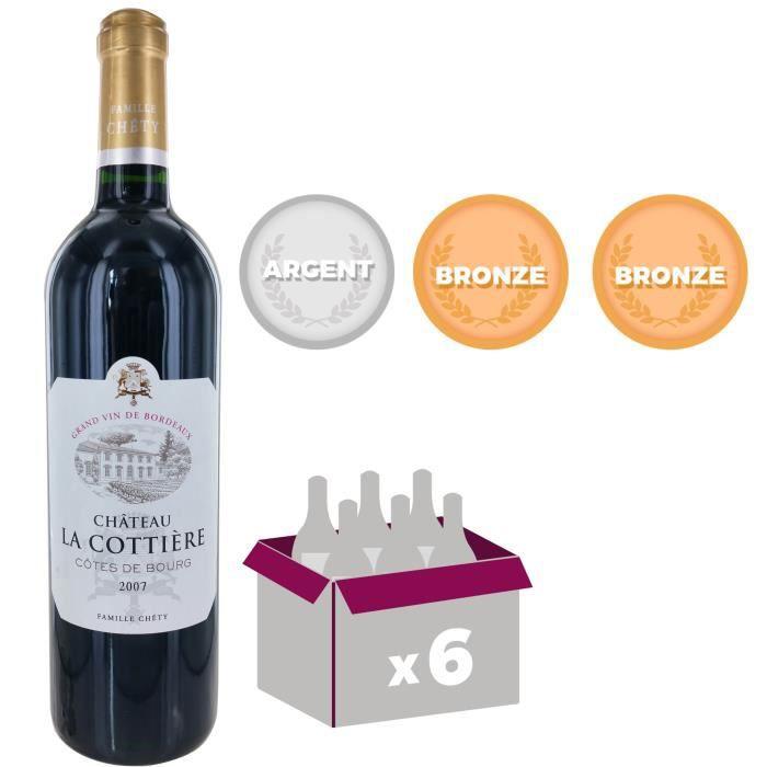 Château La Cottière - Cuvée Prestige - Côtes de Bourg - 2007 - Vin rougeVIN ROUGE