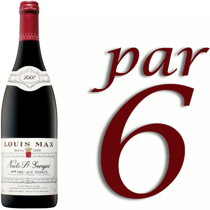 Louis Max 2007 Aux Thorey Nuits St-Georges - Vin rouge de Bourgogne