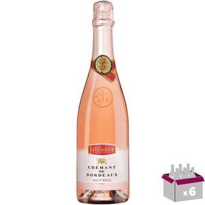 PÉTILLANT & MOUSSEUX Jaillance Crémant de Bordeaux Rosé - 75 cl