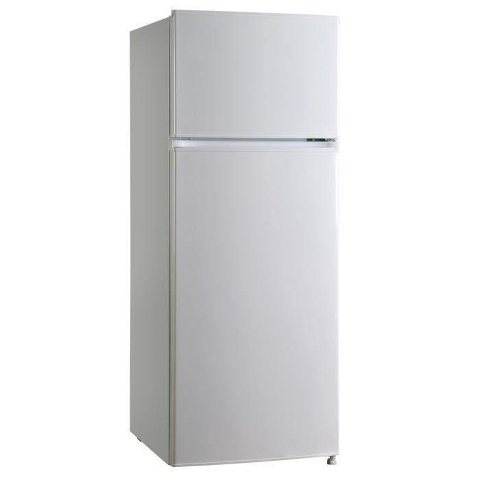 Oceanic f2d207w r frig rateur cong lateur haut 207 l - Refrigerateur congelateur haut ...