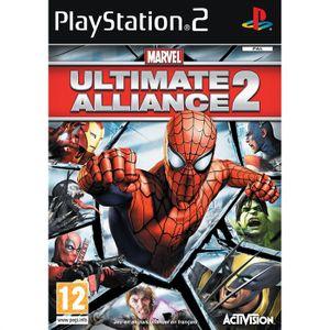 JEU PS2 MARVEL ULTIMATE ALLIANCE 2 / JEU CONSOLE PS2