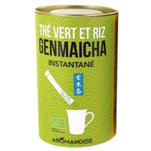 THÉ Aromandise - Thé vert Genmaicha instantané en stic