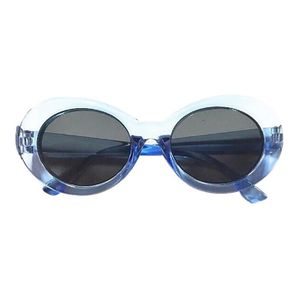 d739579f655c1 LUNETTES DE SOLEIL Lunettes de soleil rondes Lunettes de soleil bleu