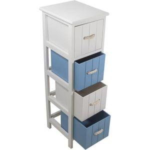 Rangement salle de bain achat vente rangement salle de for Petit meuble tiroir salle de bain