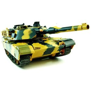 VOITURE À CONSTRUIRE TANK RADIOCOMMANDE Abrams M1A2 1:24
