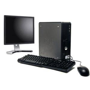 UNITÉ CENTRALE + ÉCRAN PC de bureau - Dell Optiplex 380 2,5Ghz - 2 Go - 1