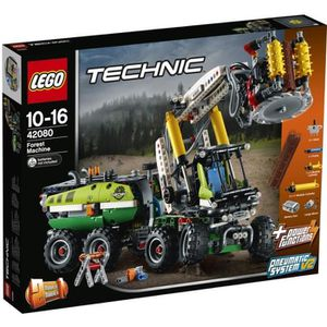 ASSEMBLAGE CONSTRUCTION LEGO® Technic 42080 Le camion forestier