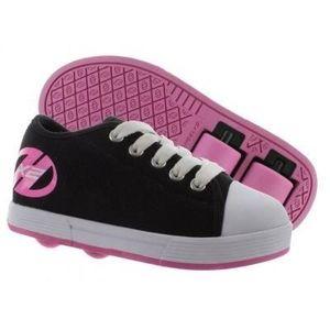 BASKET Chaussures à Roulette Heelys Fresh Noir/Rose
