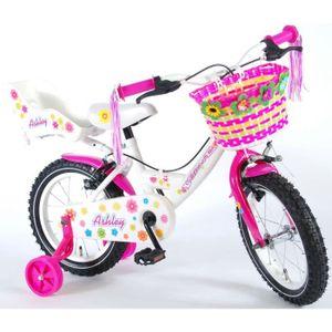 VÉLO ENFANT Vélo Enfant Fille Ashley 14 Pouces Frein Avant et