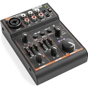 TABLE DE MIXAGE Power Dynamics Table mixage 3 voies carte son USB