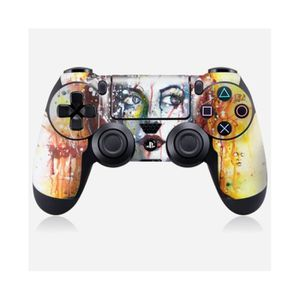STICKER - SKIN CONSOLE Skin manette Sony Playstation 4 Design Red hair be