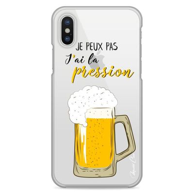 coque iphone xr motif transparente
