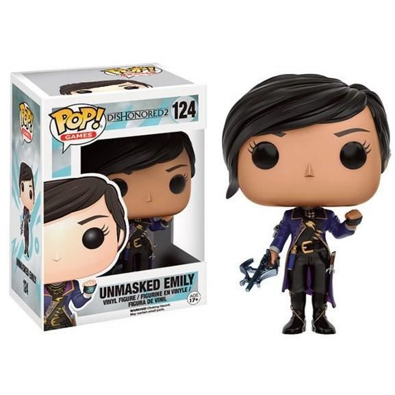 Figurine Funko Pop! Dishonored 2 : Unmasked Emily