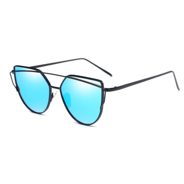 Lunettes de soleil mixte homme et femme marque de Luxe en Fashion de Métal  Cadre sunglasses f384253fa0f3