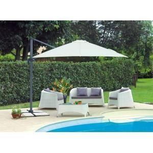 Salon de jardin complet Djerba couleur marbre b… - Achat / Vente ...