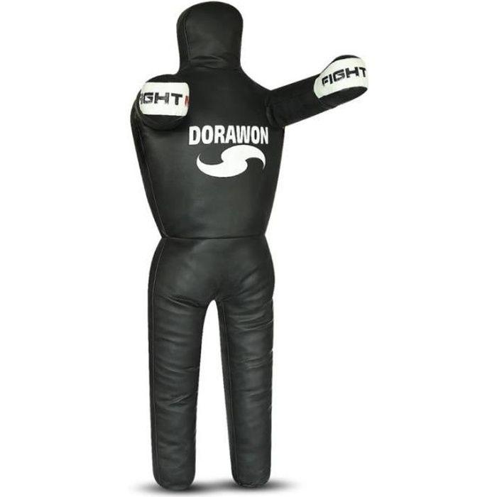 new style 1db41 16898 SAC DE FRAPPE Mannequin de lutte grappling DUMMY noir et blanc