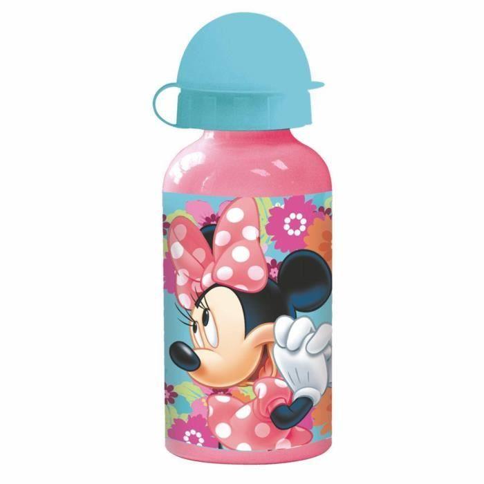02b0876bc169a Disney Minnie Mouse - Enfants Aluminium Bouteille Sport Bloom 400 ...